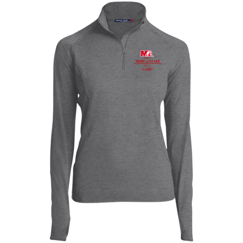 LST850 Sport-Tek Women's 1/2 Zip Performance Pullover.  Click to view in gray, black, or white.
