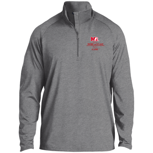ST850 Sport-Tek 1/2 Zip Raglan Performance Pullover.  Click to view in gray, black, or white.