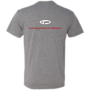 NL6010 Next Level Men's Triblend T-Shirt.  Click to view in gray, black, or white.