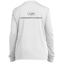 Load image into Gallery viewer, YST350LS Sport-Tek Youth LS Moisture-Wicking T-Shirt