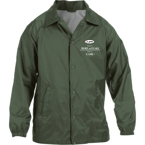 M775 Harriton Nylon Staff Jacket