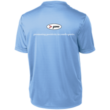 Load image into Gallery viewer, YST350 Sport-Tek Youth Moisture-Wicking T-Shirt - WHITE print front and back