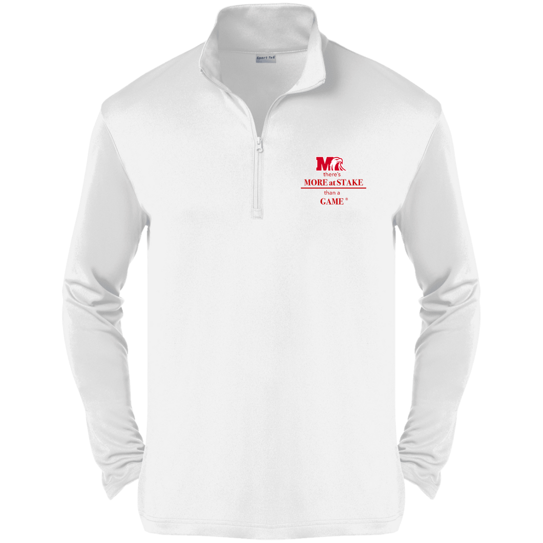 ST357 Sport-Tek Competitor 1/4-Zip Pullover.  Click to view in gray, black, or white.