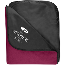 Load image into Gallery viewer, TB850 Port Authority Fleece & Poly Travel Blanket