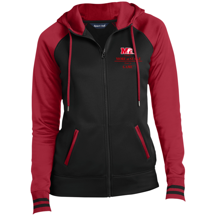 LST236 Sport-Tek Ladies' Sport-Wick® Full-Zip Hooded Jacket