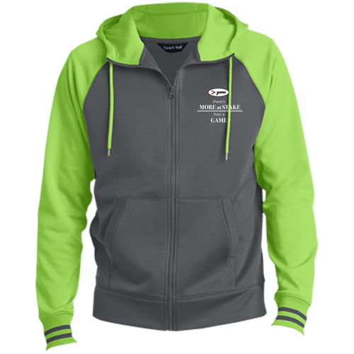 ST236 Sport-Tek Men's Sport-Wick® Full-Zip Hooded Jacket