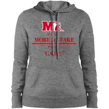 Load image into Gallery viewer, LST254 Sport-Tek Ladies' Pullover Hooded Sweatshirt.  Click to view in light gray, dark gray, or black.