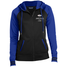 Load image into Gallery viewer, LST236 Sport-Tek Ladies' Sport-Wick® Full-Zip Hooded Jacket
