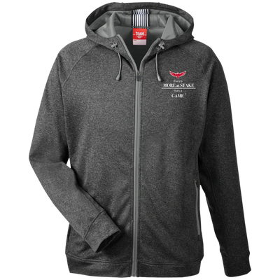 TT38 Team 365 Men's Heathered Performance Hooded Jacket