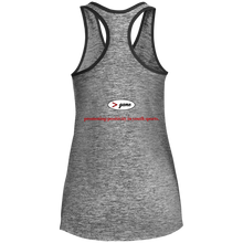 Load image into Gallery viewer, LST396 Sport-Tek Ladies' Moisture Wicking Electric Heather Racerback Tank