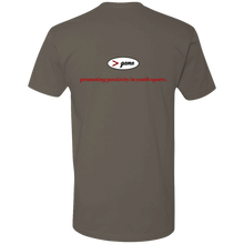 Load image into Gallery viewer, NL3600 Next Level Premium Short Sleeve T-Shirt.  Click to view in gray, black, or white.
