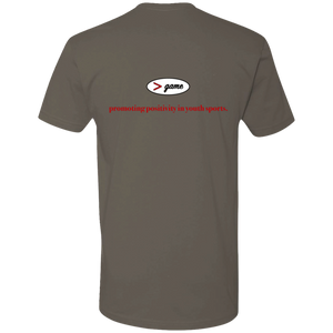 NL3600 Next Level Premium Short Sleeve T-Shirt.  Click to view in gray, black, or white.