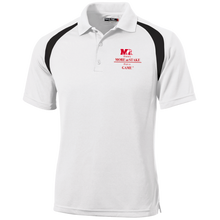 Load image into Gallery viewer, T476 Sport-Tek Moisture-Wicking Tag-Free Golf Shirt.  Click to view in black or white
