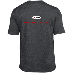 ST360 Sport-Tek Heather Dri-Fit Moisture-Wicking T-Shirt.  Click to view in light or dark gray.