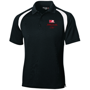 T476 Sport-Tek Moisture-Wicking Tag-Free Golf Shirt.  Click to view in black or white