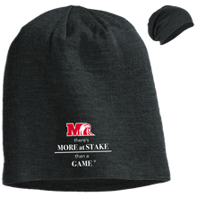 Load image into Gallery viewer, DT618 District Slouch Beanie.  Click to view in light or dark gray.