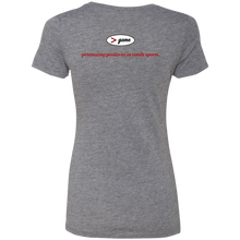 Load image into Gallery viewer, NL6710 Next Level Ladies' Triblend T-Shirt.  Click to view in gray, black, or white.