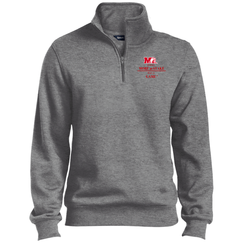 ST253 Sport-Tek 1/4 Zip Sweatshirt.  Click to view in gray, black, or white.