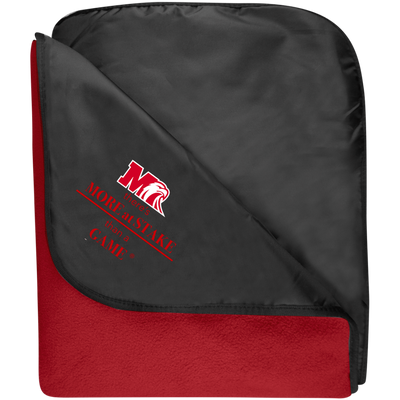 TB850 Port Authority Fleece & Poly Travel Blanket