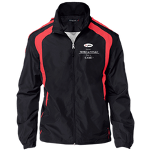 Load image into Gallery viewer, YST60 Sport-Tek Youth Colorblock Jacket