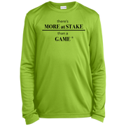 YST350LS Sport-Tek Youth LS Moisture-Wicking T-Shirt