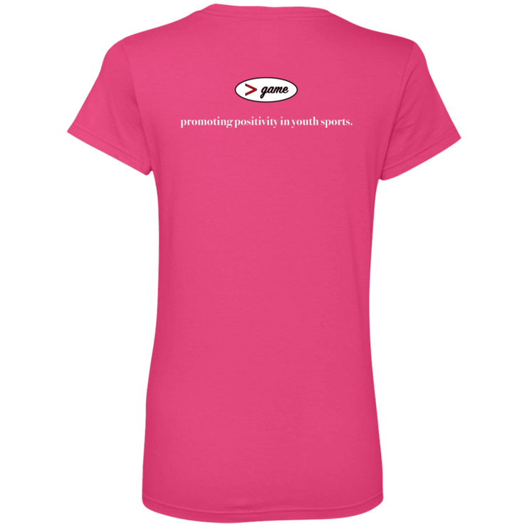 88VL Anvil Ladies' V-Neck T-Shirt
