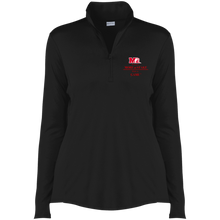 Load image into Gallery viewer, LST357 Sport-Tek Ladies' Competitor 1/4-Zip Pullover.  Click to view in white or black.