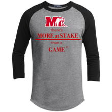 Load image into Gallery viewer, T200 Sport-Tek Sporty T-Shirt.  Click to view color options in gray, black, white, and red.