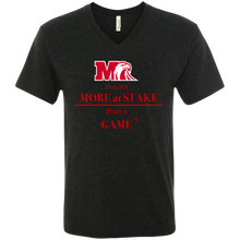 Load image into Gallery viewer, NL6040 Next Level Men's Triblend V-Neck T-Shirt.  Click to view in gray or black.