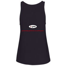 Load image into Gallery viewer, 6488 Bella + Canvas Ladies' Relaxed Jersey Tank.  Click to view in gray, black, or white.