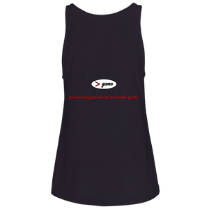 6488 Bella + Canvas Ladies' Relaxed Jersey Tank.  Click to view in gray, black, or white.