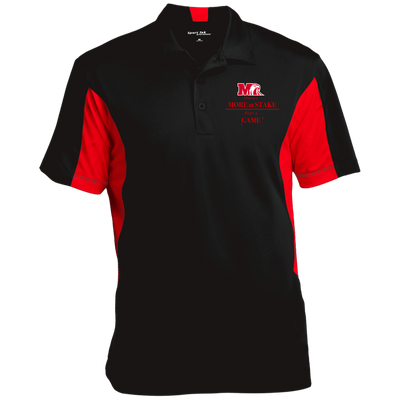 ST655 Sport-Tek Men's Colorblock Performance Polo