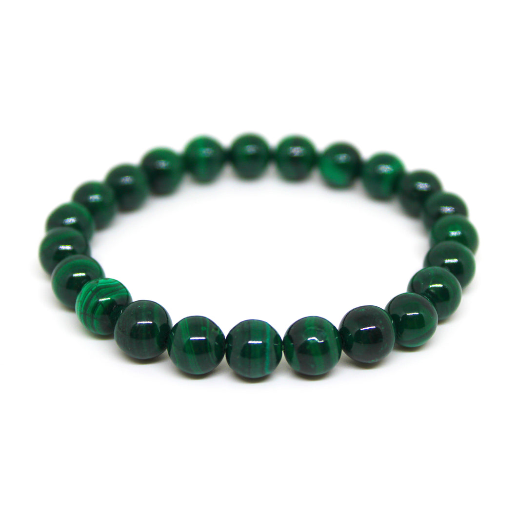 Bracelet Malachite (8mm)