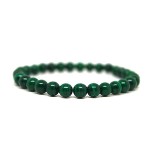 Bracelet Malachite (6mm)
