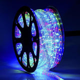 100 meter Flexible waterproof RGB (Red,Green,Blue) LED Rope Light with Adapter (Pack of 1)