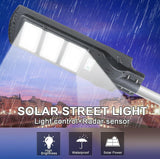 60 Watt Waterproof Solar Led Street Light with Integrated Solar Panel for Outdoor Purposes