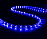 70-75 meter Flexible waterproof Blue LED Rope Light with Adapter (Pack of 1)