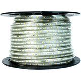 70-75 meter Flexible waterproof Warm White LED Rope Light with Adapter (Pack of 1)