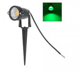 3 Watt LED Spike Garden Light for Outdoor Purposes (Green, Pack of 1)