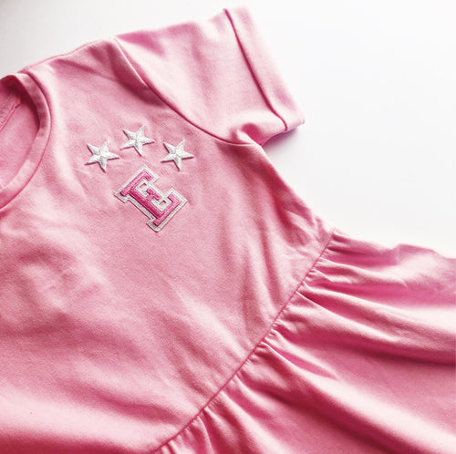 Pink Initial Summer Dress - That Little Outfit