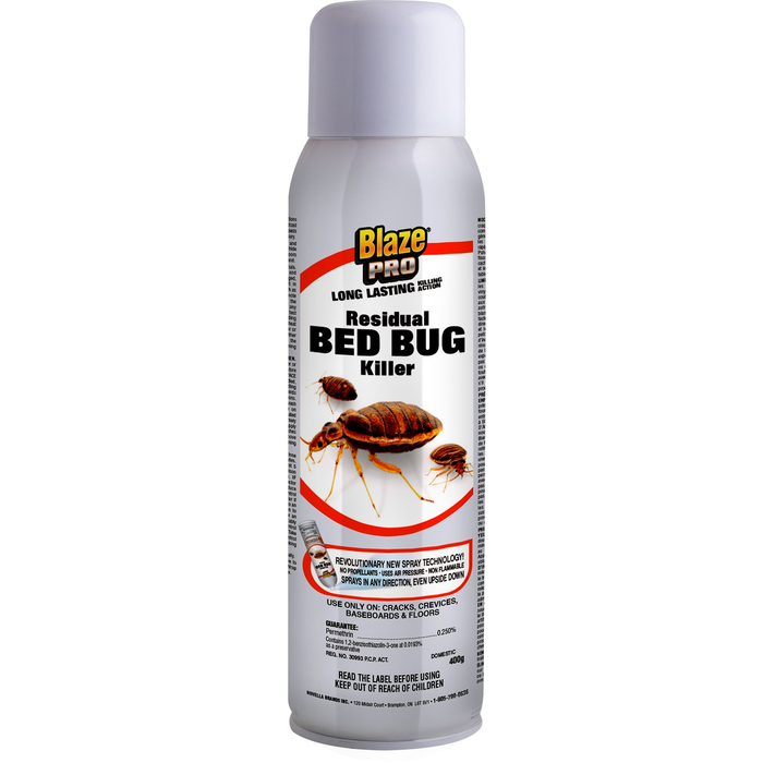 Blaze Pro Residual Bed Bug Killer – 400 G