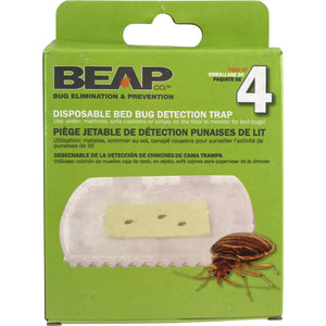 Disposable Bed Bug Detection Trap - Bed Bug SOS