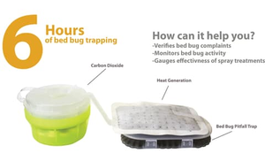 BeapCo's CO2 trap - Bed Bug SOS