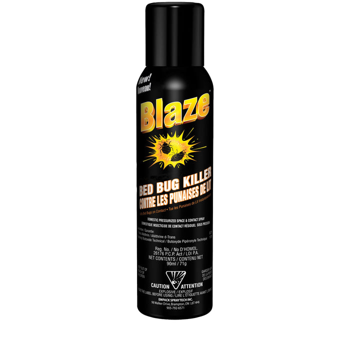 Blaze Bed Bug Killer- Travel 71g - Tout Vendu