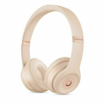 Beats Solo3 MR3Y2LL/A Headphones Matte Gold
