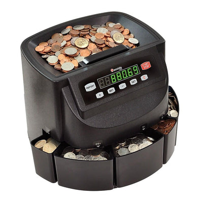 Cassida C200 Coin Counter, Sorter and Wrapper