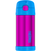 Thermos Funtainer 12oz Cold Beverage Bottle Pink