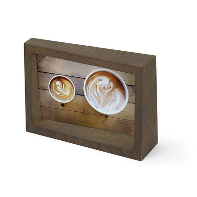 "Umbra Edge Photo Display, 4"" x 6"", Walnut"