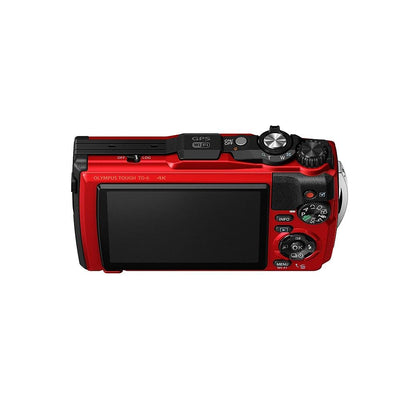 Olympus TG-6 Digital Camera Red