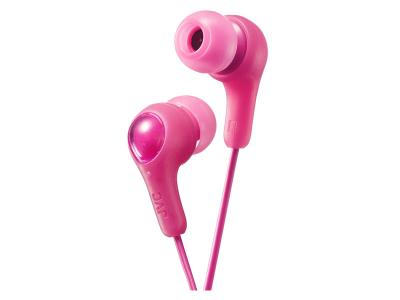 JVC Gumy Plus HA-FX7-P Punch Pink Headphones